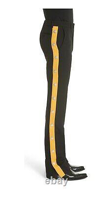 Calvin Klein 205w39nyc Breakaway Pants Black Charcol NWOT $1,200 Size 40 USA F2