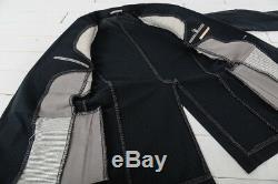 Carol Christian Poell Black Overlock Men's Suit SS05 Size 52/50