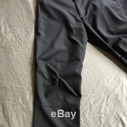 Comme des Garcons Mens Black Kilt Pants 2013