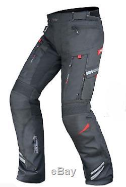 DRIRIDER Vortex Adventure Motorcycle Pants New! Large / 34 Black All Seasons
