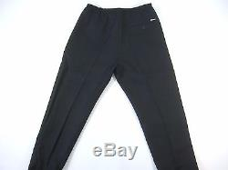 Dsquared2 Dsquared 2 Black 48 28 Silk Wool Blend Jogger Jog Pants Made In Italy