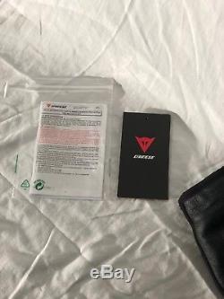 Dainese Delta Pro C2 Pelle Estivo Black Leather Trouser