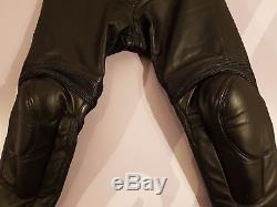 Dainese Mekong Motorcycle Leather Trousers EU 60 / UK 42 Waist Black
