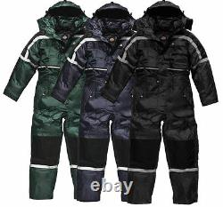 Dickies Waterproof PADDED COVERALL Overall Biker Fishing Tunnel Suit WP15000