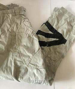 Dolce&Gabbana Black Label Runway CARGO Logo Pants Trousers 42 MadeInIT