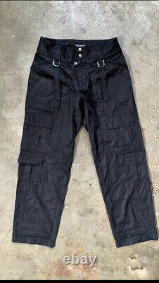 Dolce gabbana bondage cargo pants
