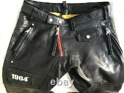 Dsquared2 Motorcycle Leather Pants