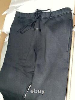Essentials Fear Of God Black Small Sweatpants