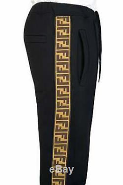 FENDI FF Joggers brand new authentic certificated with tags RRP £890