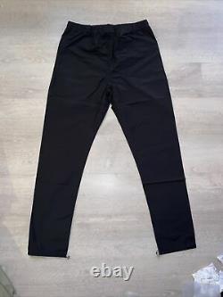FOG Fear of God Essentials Black Track Pant Mens Size Large (FW20) New