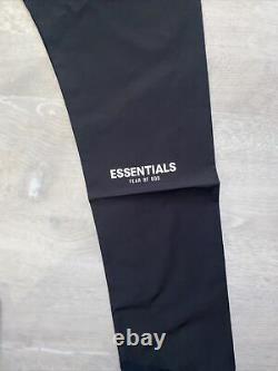 FOG Fear of God Essentials Black Track Pant Mens Size Medium (SS21) New