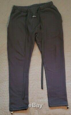 Fear Of God Sixth Collection Core Sweatpants Vintage Black Sz. Medium