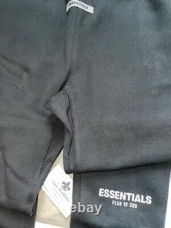 Fear of God Essentials Black Joggers Small