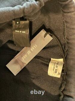 Fear of God Sixth Collection RELAXED VINTAGE BLACK Sweatpants SizeMEDIUM