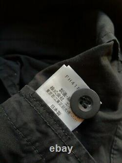 Final Home Combat Trousers, Issey Miyake/Kosuke Tsumura black cotton