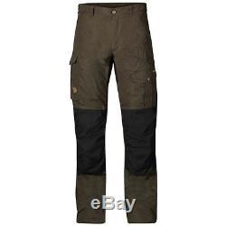 Fjallraven Mens Barents Pro Trousers Dark Olive (waist 34 Regular)