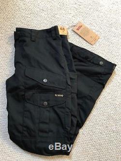 Fjallraven Vidda Pro Trousers BNWT Size 48 (32 Waist) Regular Length. BLACK