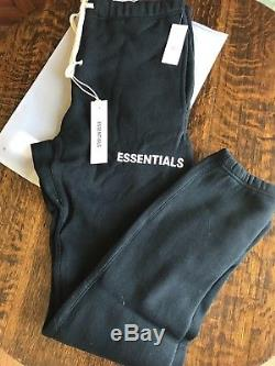 Fog Fear Of God Essentials Graphic Sweatpant Black Medium Sold Out Limited Editi
