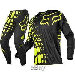 Fox 360 Grav Black/yellow XL & 38 Pants & Jersey Motocross MX Offroad