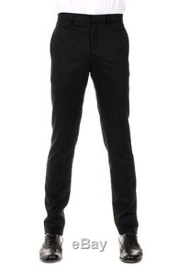 GIVENCHY New Men Black wool Zip Pants Trousers Made in Portugal NWT