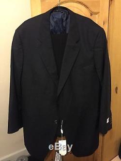 Giorgio Armani Suit. Black. UK Size 46, Italian Size 56R + 2x Armani trousers