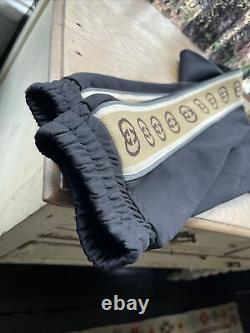 Gucci Technical Mens Cotton Jersey Sweatpants Size Medium. Read Description