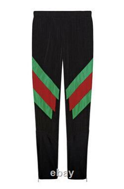 Gucci Track Pants Web Intarsia Nylon Size M
