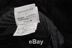 HOMME PLISSE ISSEY MIYAKE Black Men's Pants Size2 320 0811