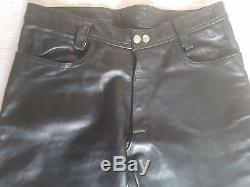 Heavy Leather Jeans by MrB Amsterdam Black Gay Int Thick Leather Mr B Jeans