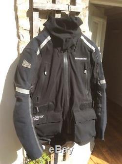 Hein Gericke Gore-Tex Pro Shell All Weather Waterproof Jacket/Trouser Combo. M/C