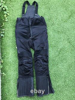 Hein Gericke Motorcycle All In One Leather Dungarees FREE P&P Size UK 34s