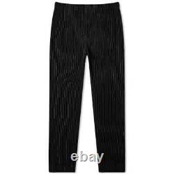 Homme Plissé Issey Miyake Jf150 Pleated Trouser Pants Black Size 3