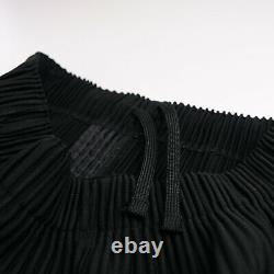 Issey Miyake Homme Plissé Tapered Trousers Small Size 1 Mens Black