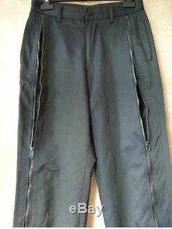 Issey Miyake Men Masterpiece Zip Pants Black 30W Yohji Comme Archive