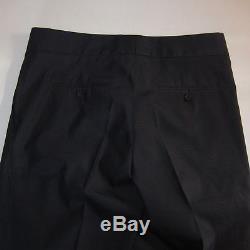J-1068979 New Burberry Prorsum Ink Blue Zip Dress Pants Size-US 30 Marked 38