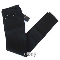 J-2837106 New Saint Laurent Black Jeans Trousers Pants Size 27