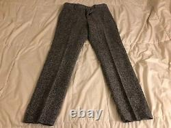 J. Crew Ludlow Pant in Black-White Magee tweed, 30X30, NWT! , See Pics