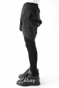 JULIUS NILøS Gathered Twisted Drop Crotch Shorts pants Rick Owens JP1 Small