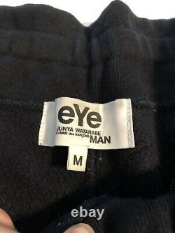 JUNYA WATANABE MAN Black Drop-crotch Sweatpants Size M