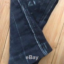 Jean Paul Gaultier Homme Trompe L'oeil Jacquard Biker Pants Size 48 / 33in JPG