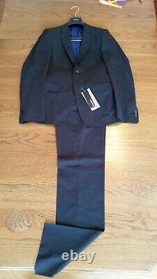 Jil sander suit jacket blazer coat pants trousers black 36 46 NWT