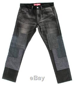 Junya Watanabe Levi's Men's Black Patch Skinny Denim Jeans Small MSRP $705