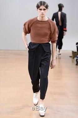 Jw Anderson Autumn Winter 2014 Men Black Wool Trouser
