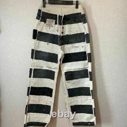 KAPITAL KOUNTRY Prison Border Nouvelle Pants Sashiko Remake size 2