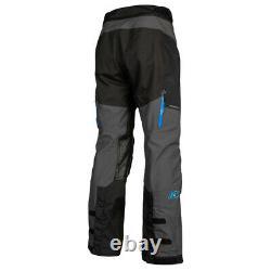 KLIM Sample Traverse Motorcycle Pant Men's Size 34 Black/Kinetik Blue