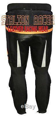 KTM Motogp Motorbike Racing Cowhide Leather Trousers