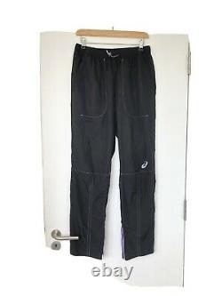 Kiko Kostadinov X asics Woven Jogging Trousers Black Medium Brand New