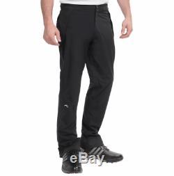 Kjus Men Pro 3L II Golf Rain Pants Black Size 50 Medium US 32-34 MSRP $500 NEW