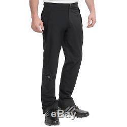 Kjus Men Pro 3L II Golf Rain Pants Black Size 52 Large US 34-36 MSRP $500 NEW