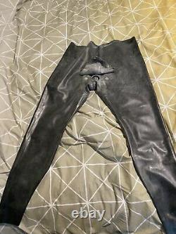 Latex Trousers With Cod Piece XXL